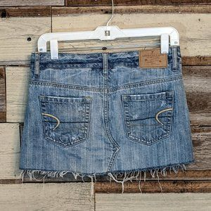 American Eagle Outfitters Skirts - American Eagle Distressed Jean Skirt sz 2